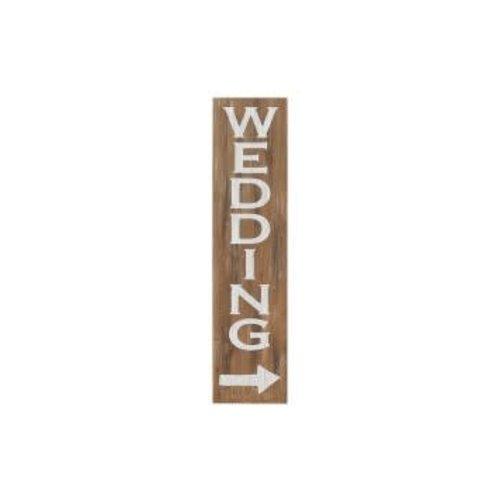Wedding Vintage Leaner Sign