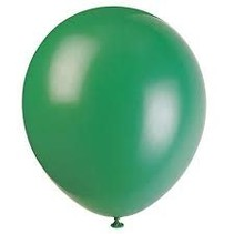 """***12"""" Latex Balloons, 72ct - Deep Forest Green"""
