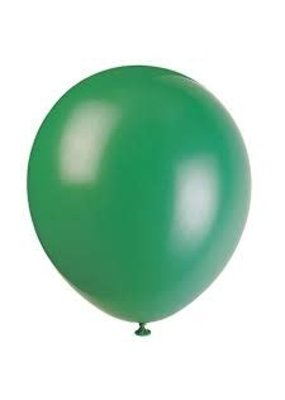 "****12"" Latex Balloons, 72ct - Deep Forest Green"