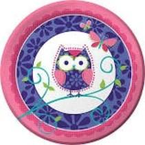 "***Owl Pal 9"" Dinner Plate"
