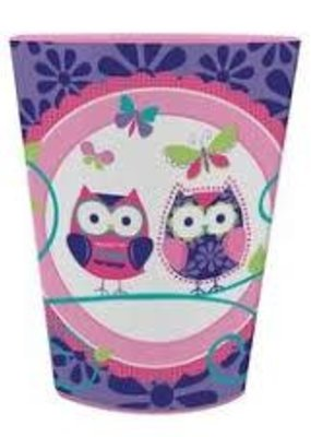 ***Owl Pal Plastic Birthday Cup