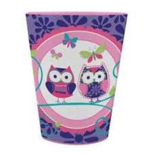 *Owl Pal Plastic Birthday Cup