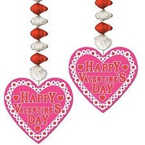 **Valentine's Day Danglers 2ct