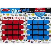 ***Travel Bingo Flip to Win