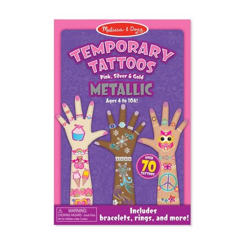 Metallic Temporary Tattoos