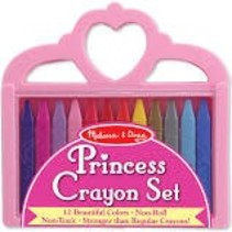 ***Crayon Set Princess Crown