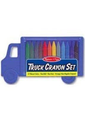 ***Crayon Set Truck