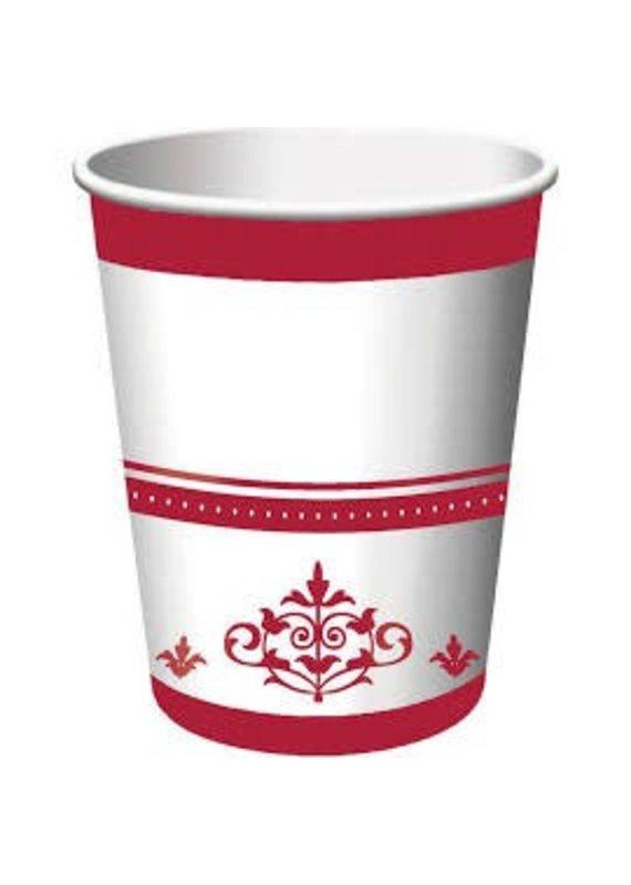 *****Stafford Ruby 40th Anniversary 9oz Cups 18ct
