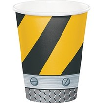 ***Construction Zone 9oz cup 8ct