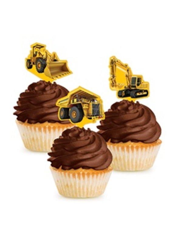 *****Construction Zone Cupcake Picks 12ct