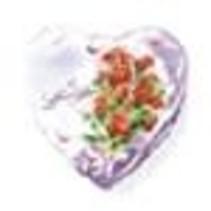 ***Love Floral Heart Shape Mylar Balloon