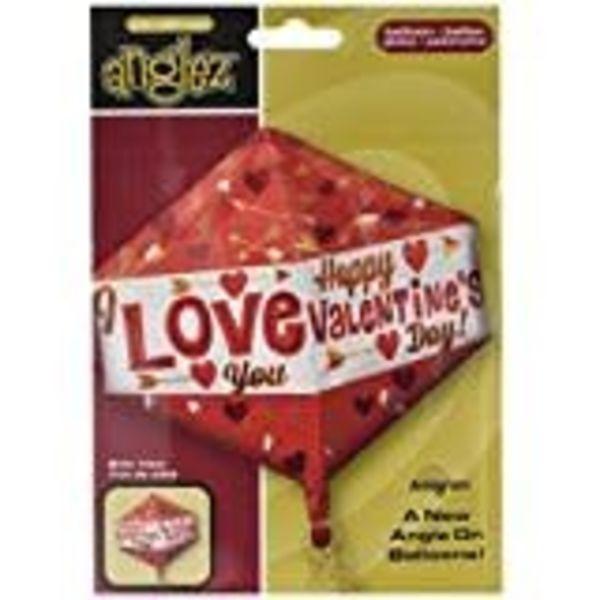 **Happy Valentine Anglez Mylar Balloon
