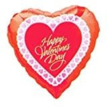 **Happy Valentine's Day Heart Shape balloon
