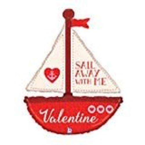 **Sail Away with Me Jumbo Valentine Balloon
