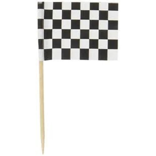 *Checkered Flag 50ct Picks