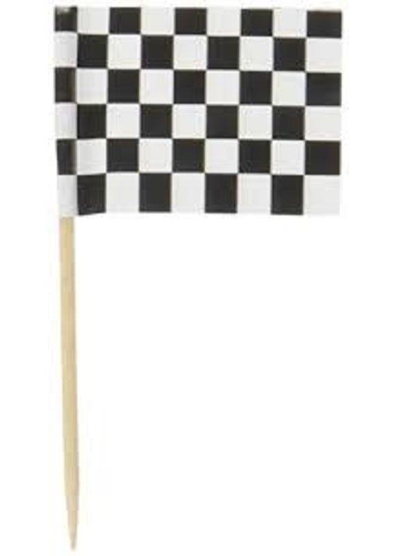 *****Checkered Flag 50ct Picks
