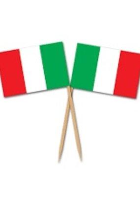 ***Italian Flag Picks 50ct