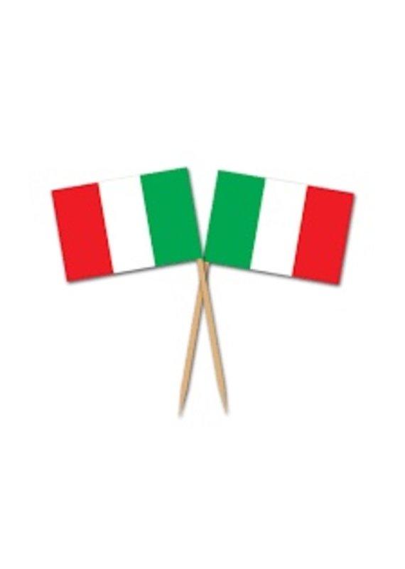 *****Italian Flag Picks 50ct