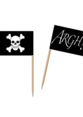 ***Pirate Flag Picks 50ct