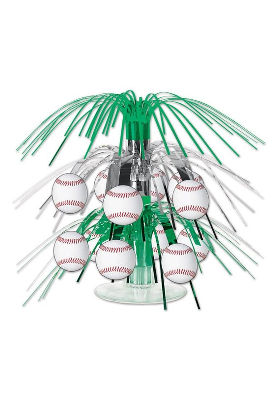 ***Baseball Mini Cascade Centerpiece