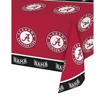 *Alabama Crimson Tide Plastic Tablecover