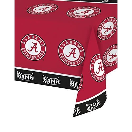 *Alabama Crimson Tide Plastic Tablecover