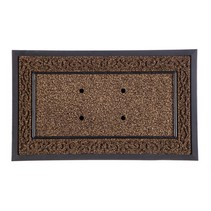 Brown Scroll Sassafrass Mat Tray