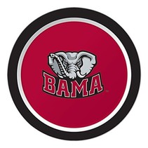 "*University of Alabama Crimson Tide 7"" Plates 8ct"