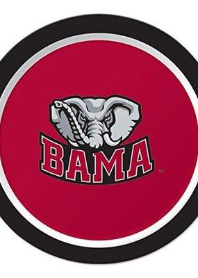 "***University of Alabama Crimson Tide 7"" Plates 8ct"