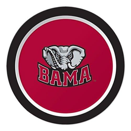 "*University of Alabama Crimson Tide 7"" Plates 8ct"