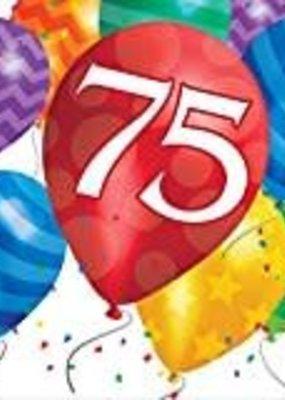 ***Balloon Blast 75th Lunch Napkins 16ct
