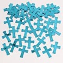 *Blue Cross Religious Confetti