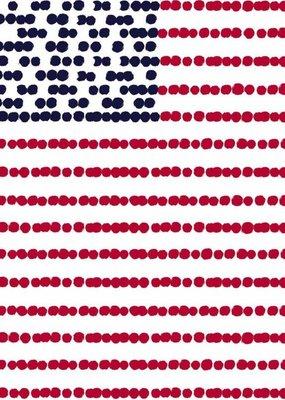 ***American Flag Paper Guest Towels