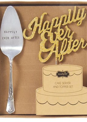 ***Happily Ever After Cake Server