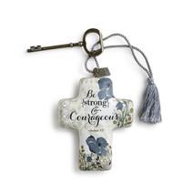 ***Strong & Courageous Art Cross