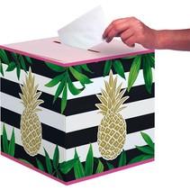 Pineapple Card Box
