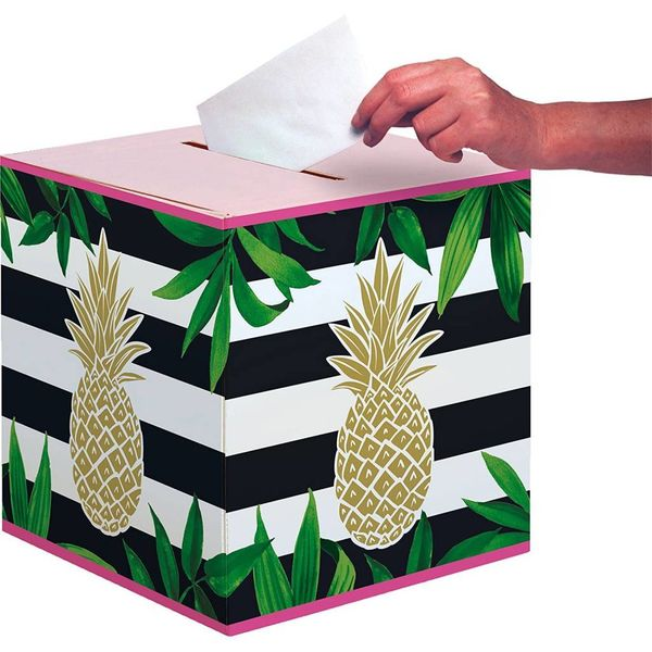 Pineapple Card Box