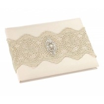 ***Gold Lace Guest Book