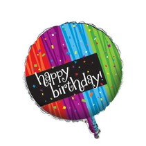 ***Milestone Happy Birthday Mylar Balloon