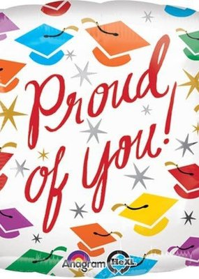 *Proud of You Grad Square Mylar Balloon