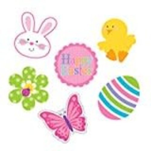 *Easter Spring Cutouts 6ct