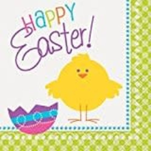 *Easter Chick Lunch Napkins 16ct