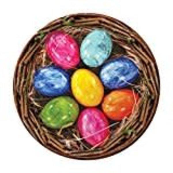 "*Beautiful Basket Easter Egg 7"" plates"