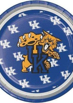 "***University of Kentucky Wildcats 7"" Plates 8ct"