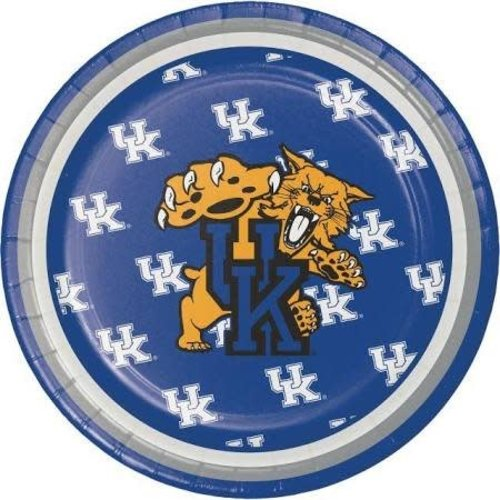 "*University of Kentucky Wildcats 7"" Plates 8ct"