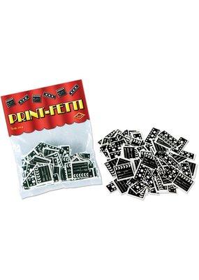 ***Print-Fetti Filmstrip & Clapboard Confetti