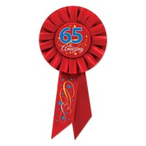 ***65 & Amazing Rosette Ribbon