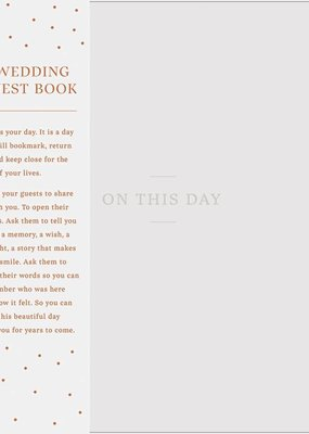 ***On This Day Wedding Guest Book