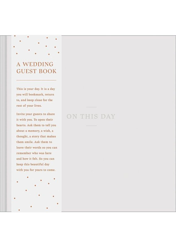 *****On This Day Wedding Guest Book