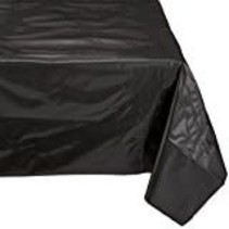 ***Black Velvet 54x108 Rectangle Tablecover